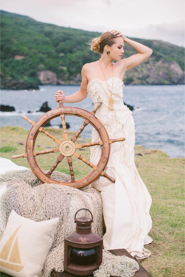shipwreck themed wedding