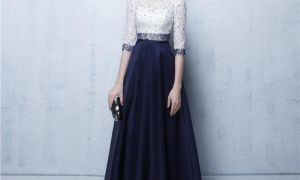 22 Beautiful Navy Blue Dresses for Wedding