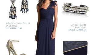 25 Elegant Navy Blue Dresses for Wedding Guest