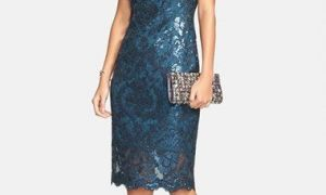 26 Elegant Navy Blue Dresses to Wear to A Wedding