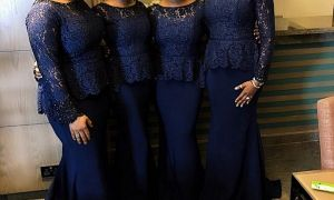 30 Fresh Navy Blue Wedding Guest Dresses