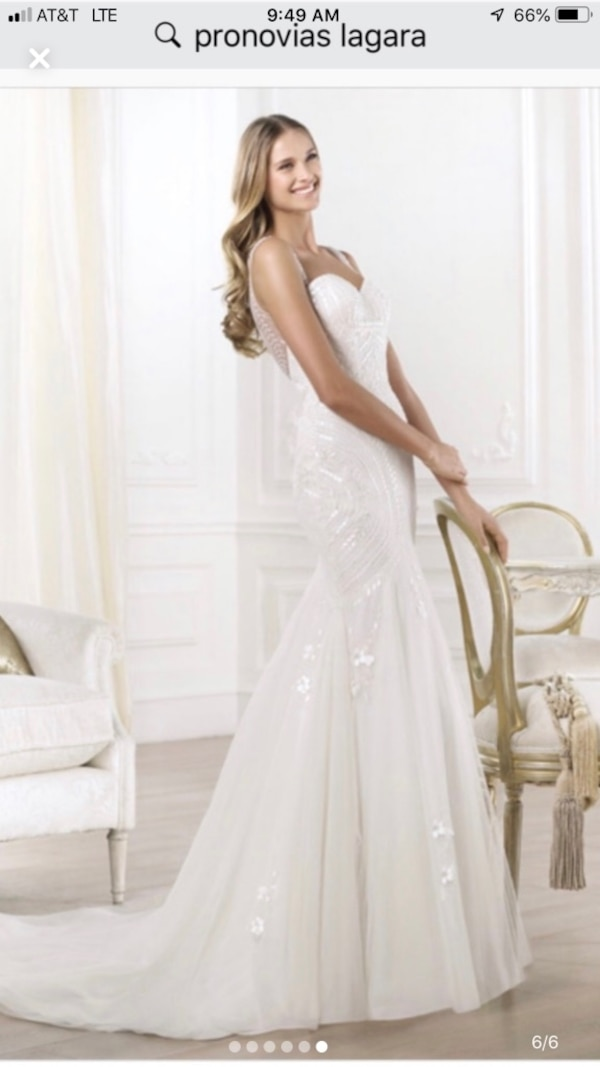 Newest Wedding Dresses Best Of Pronovias Lagera Wedding Dress Gown New