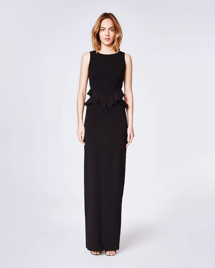 Nicole Miller evening Gowns Unique Structured Queen the Night Dress