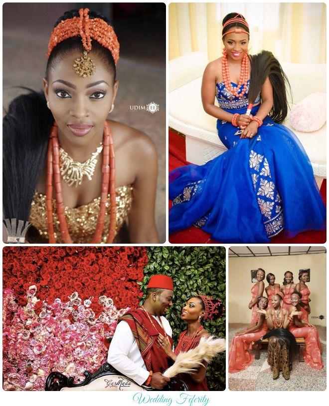 nigerian wedding igbo traditional wedding feferity