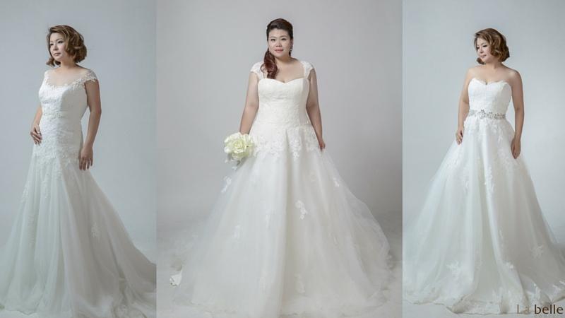 plus size wedding gowns singapore