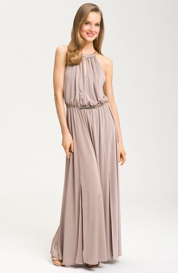 Nordstrom Gowns Luxury Maggy London Iridescent Jersey Maxi Dress Available at