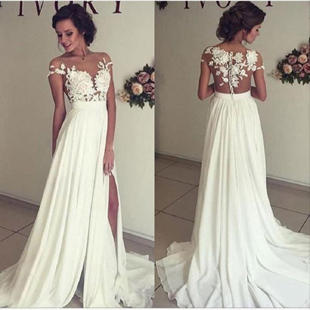 Off White Beach Wedding Dresses Luxury Dress for formal Wedding S Media Cache Ak0 Pinimg originals