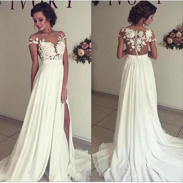 Off White Beach Wedding Dresses Luxury Dress for formal Wedding S Media Cache Ak0 Pinimg originals