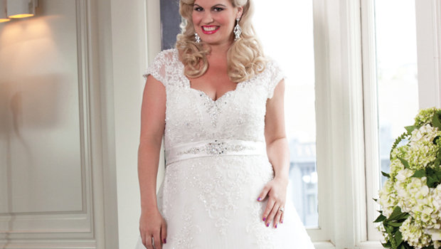 header image Article Main Fustany Fashion Weddings how to hide belly fat in your wedding dress