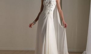 27 Inspirational One Strap Wedding Dresses