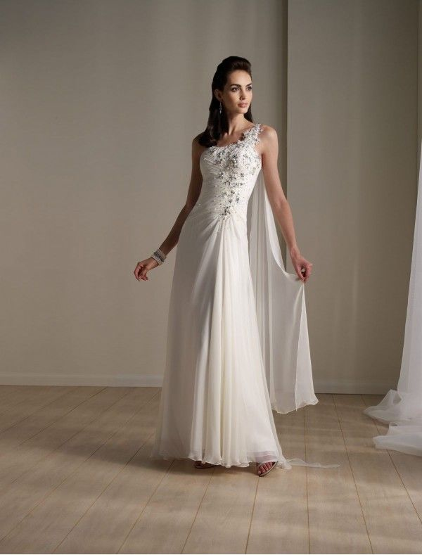 One Strap Wedding Dresses Best Of E Strap Wedding Dresses Wedding Dress Trend