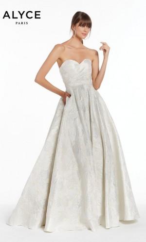 alyce paris 1436 sweetheart neckline formal gown 01 581