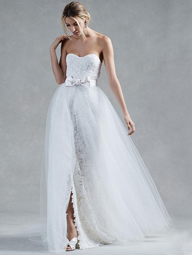 Oscar de la Renta Fall 2017 Wedding Dresses 2