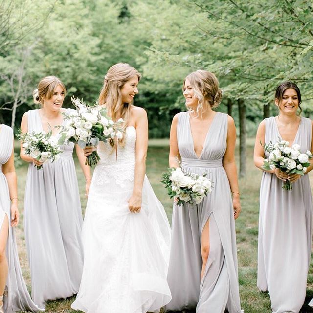 Outdoor Wedding Bridesmaid Dresses Beautiful Image May Contain 5 People Wedding and Outdoor Regram Via
