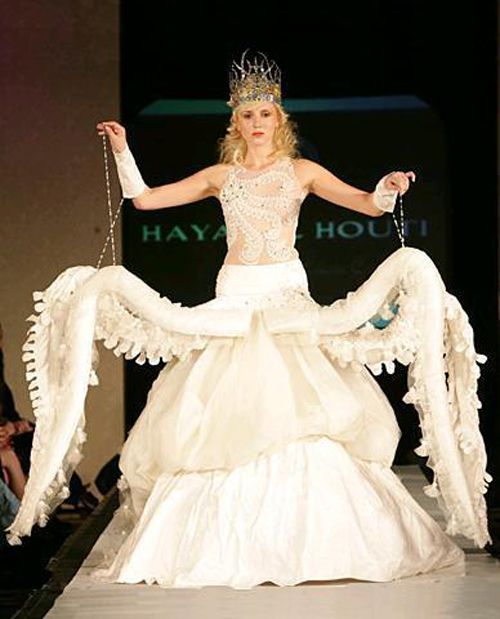Outrageous Wedding Dresses Inspirational Funny Octopus Wedding Dress All Hallows