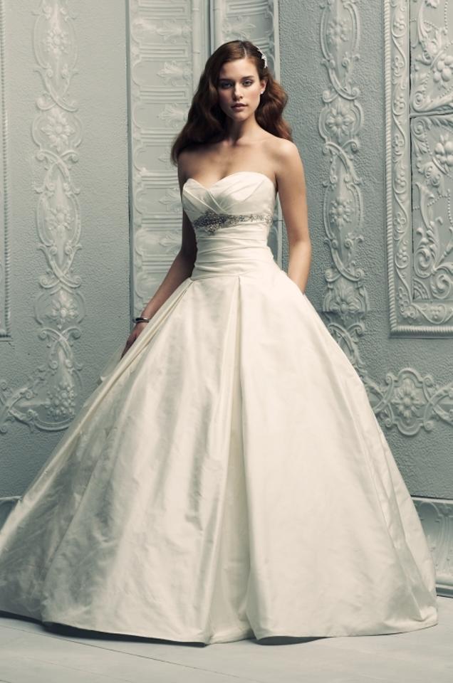 paloma blanca natural silk dupioni 4203 formal wedding dress size 8 m 0 0 960 960