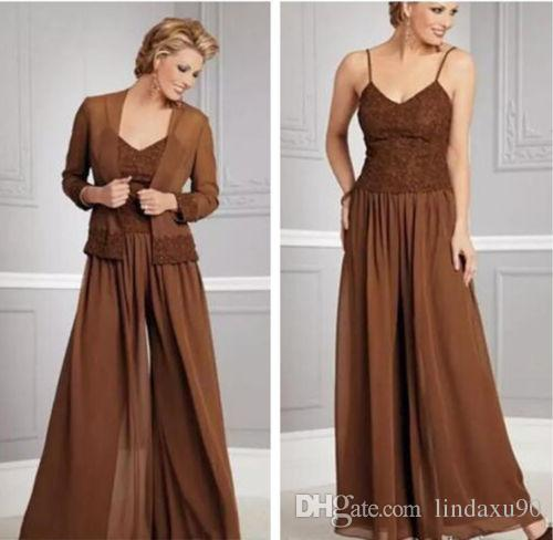 vintage chiffon mother of the bride dresses