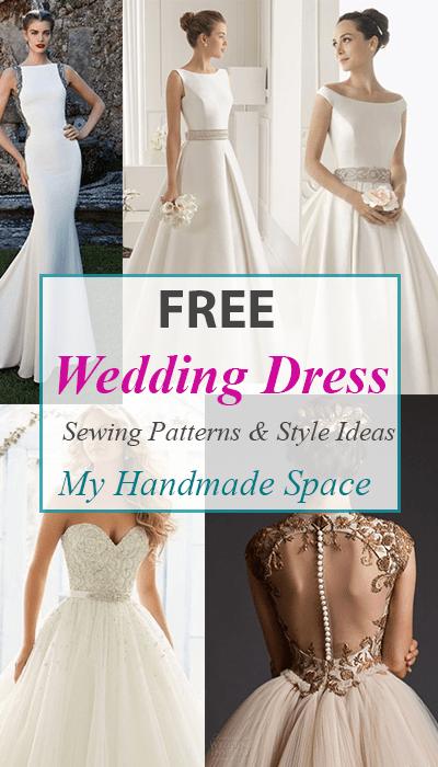 Patterns Wedding Dresses Fresh Free Wedding Dress Sewing Patterns