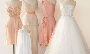 29 Lovely Peach Colored Dresses Wedding