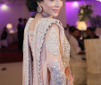Peach Dresses for Wedding Awesome Humaima Malick Wearing Peach Silver Dress by Mina Hassan