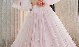 26 Luxury Peach Wedding Dresses