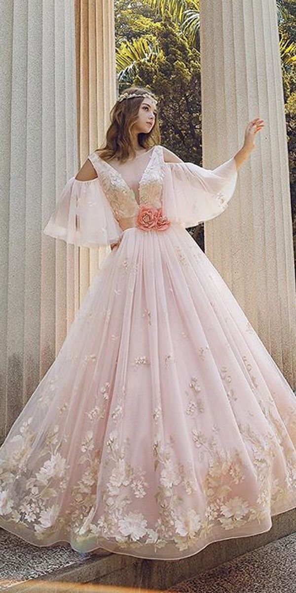 Peach Wedding Dresses Inspirational 27 Peach & Blush Wedding Dresses You Must See Me