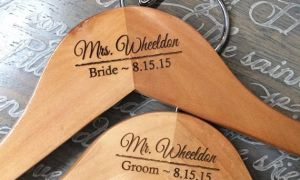 27 Best Of Personalized Hangers for Wedding Dresses