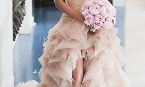 28 Fresh Pink Beach Wedding Dress
