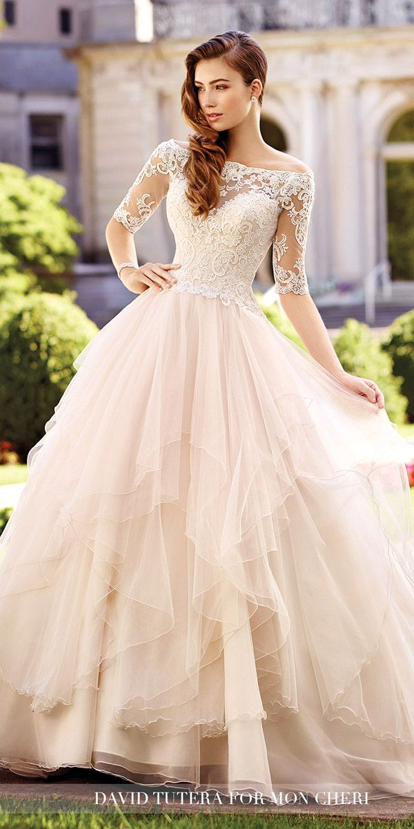 long gowns for wedding new extravagant pink wedding dresses 2018 fantasy in weddings with