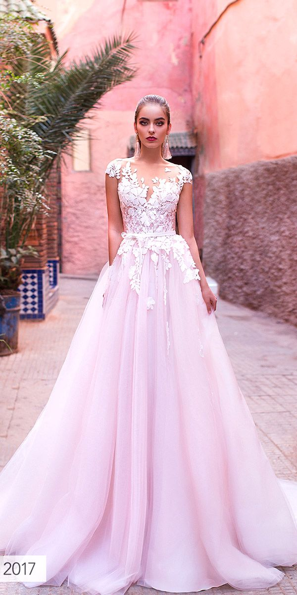 Pink Wedding Dresses 2017 Beautiful 6 Wedding Dress Designers We Love for 2017