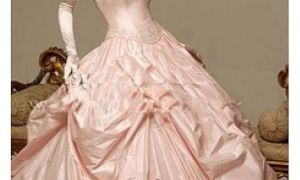 25 Elegant Pink Wedding Dresses