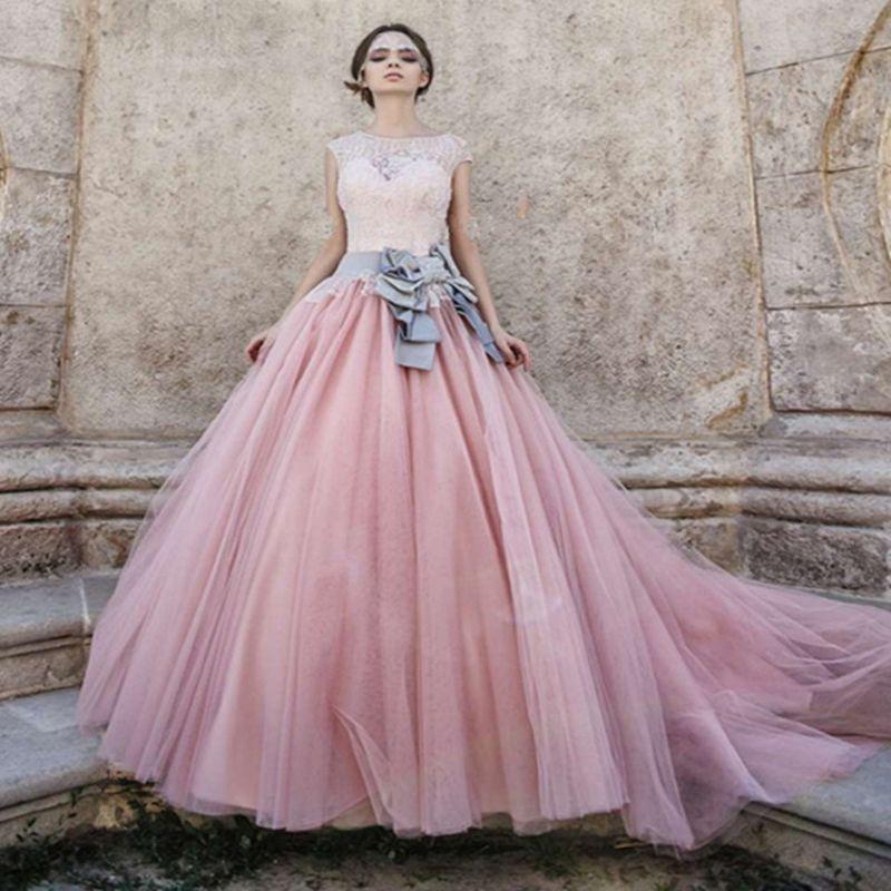 pink ball gown wedding dress elegant tanie keywords kupuj dobrej jakoac29bci keywords prosto z od