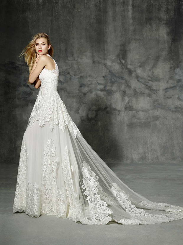 Yolan Cris Boho Folk Bridal Collection 2016 Pallars side