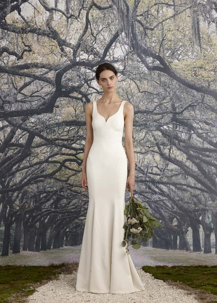 wedding gowns simple elegant simple wedding gowns for the minimalist bride weddings
