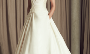 27 New Pleated Wedding Dress