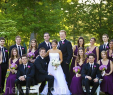 Plum Wedding Dresses Elegant Pretty Bridal Party Eggplant Dresses and Black Suits