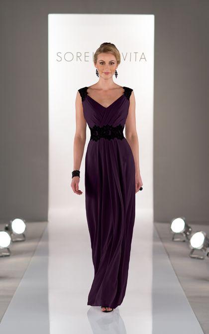 Plum Wedding Dresses Inspirational Full Length Plum Bridesmaid Dress Featuring Chiffon with A