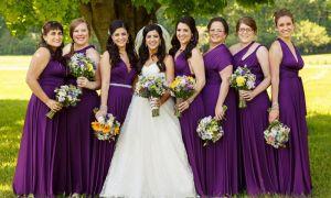 23 New Plum Wedding Dresses