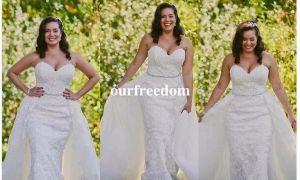 27 Unique Plus Size 2 Piece Wedding Dresses