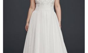 21 Awesome Plus Size A Line Wedding Dresses