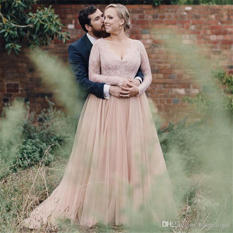 2018 bohemian bling wedding dresses plus