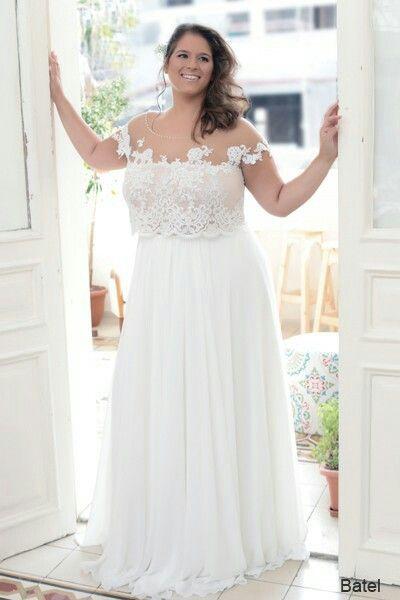 Plus Size Boho Wedding Dress Unique Pin On Plus Size Wedding Gowns the Best