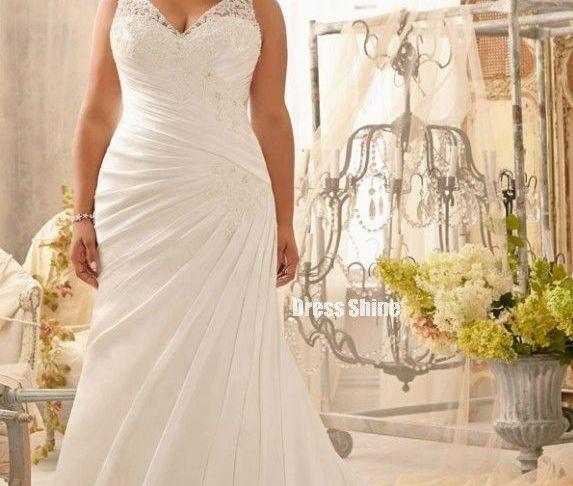 Plus Size Chiffon Wedding Dress Inspirational Beautiful Second Wedding Dress for Plus Size Bride