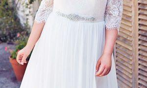 25 Elegant Plus Size Fall Wedding Dresses