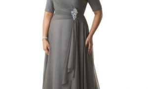 26 Beautiful Plus Size Grey Dresses for Wedding