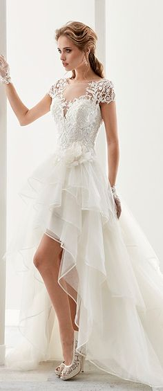 c1bade0922e69ad51b2720e0e27d0fd4 hi lo wedding dress wedding dresses with lace
