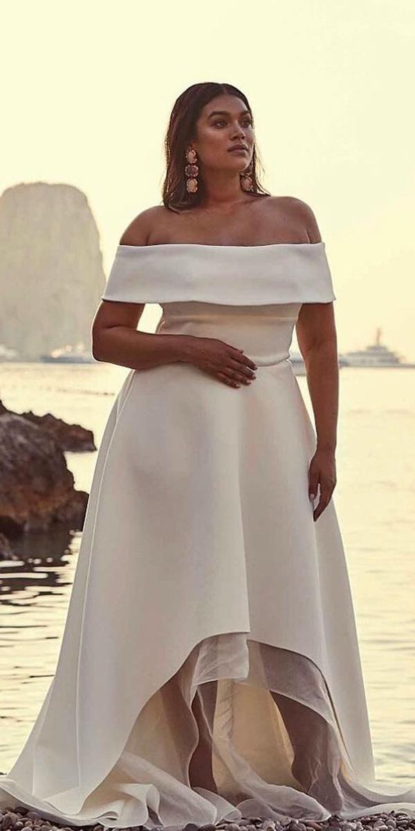 Plus Size High Low Wedding Dresses Unique 33 Plus Size Wedding Dresses A Jaw Dropping Guide