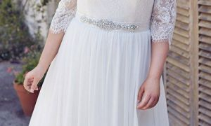 28 Awesome Plus Size Lace Wedding Dresses