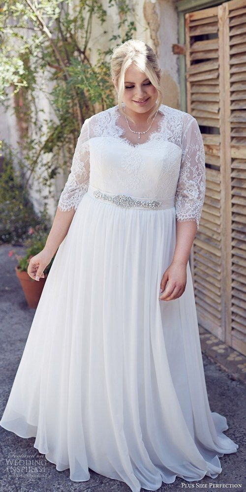 Plus Size Lace Wedding Dresses Inspirational 30 Dynamic Plus Size Wedding Dresses