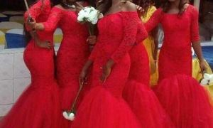 22 Awesome Plus Size Red Wedding Dresses